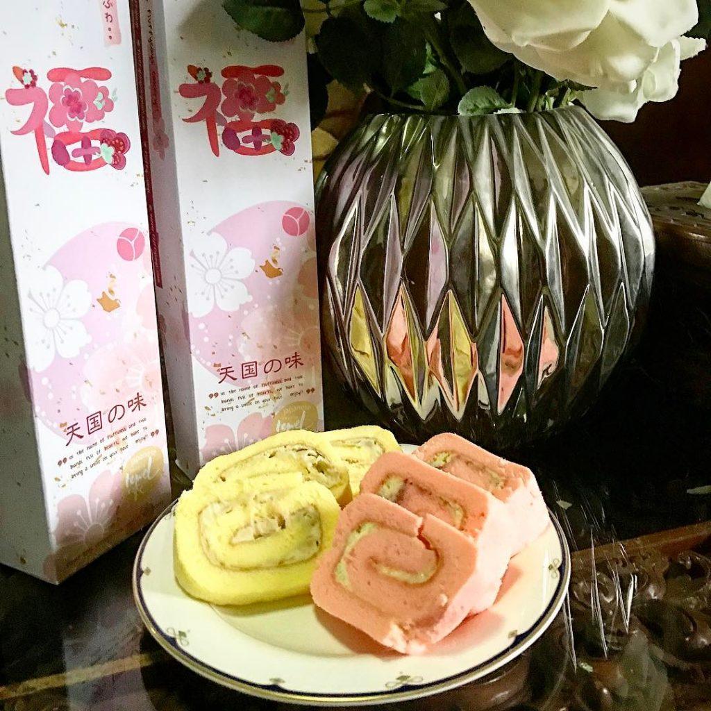 Fluffy Towel Cake Durian amp Ispahan Mix of Rose Lycheehellip